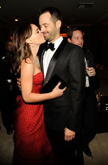 Natalie Portman and Benjmain Millepied at the 2012 Vanity Fair Oscars party
