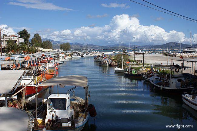 Fishing boats moored at #Nea #Kios in #Argolida - #Greece