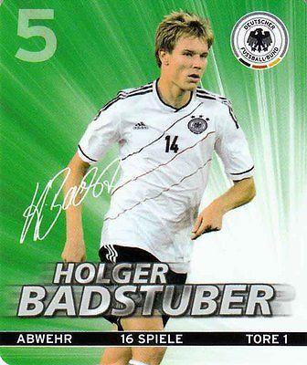 Rewe DFB Sammelkarten Fußball EM EURO 2012 Nr. 5 Holger Badstuber 05