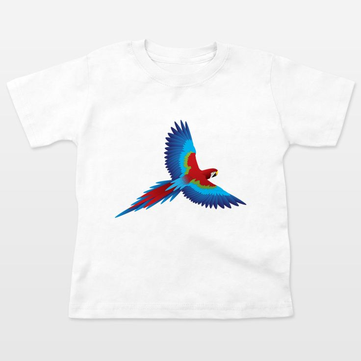 Fun Indie Art from BoomBoomPrints.com! https://www.boomboomprints.com/Product/steelgraphics/Parrot_1/Toddler_T-Shirts/2T_White/