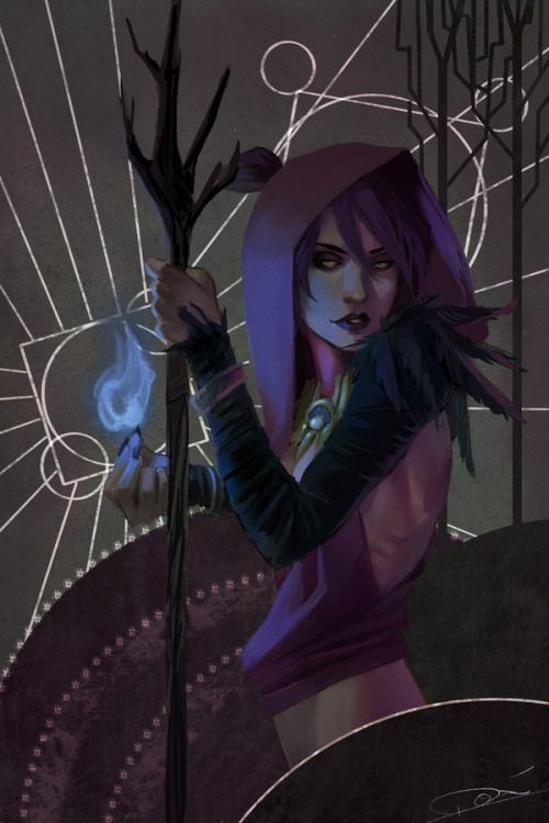 Witch of the WildsThis was fun~Gods I love Morrigan