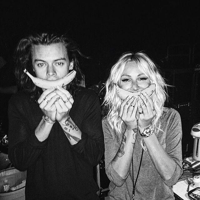 So cute Harry and Lou Teasdale