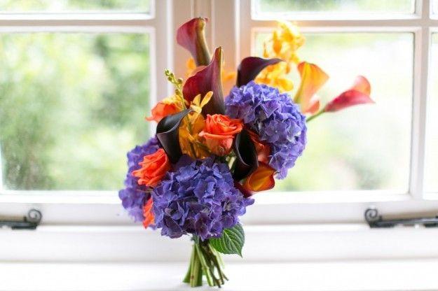Bouquet da sposa con calle