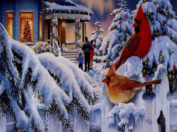 Beautiful Christmas Scenes Free Download HD Beautiful