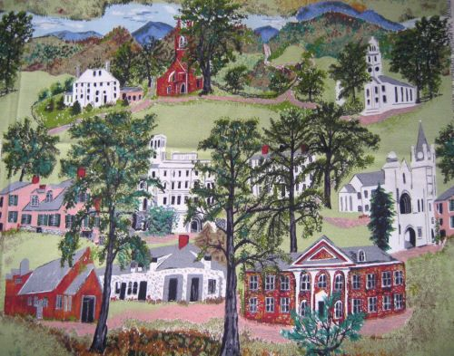 """Williamstown"", Grandma Moses"