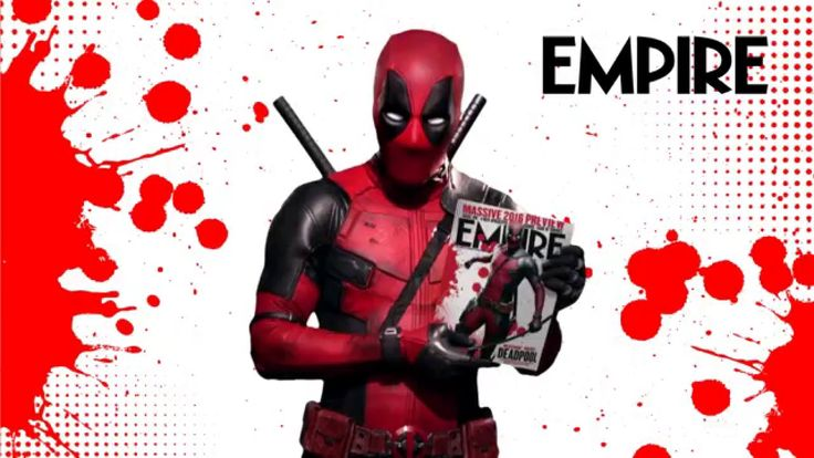 Deadpool welcomes you to the February 2016 issue of Empire magazine