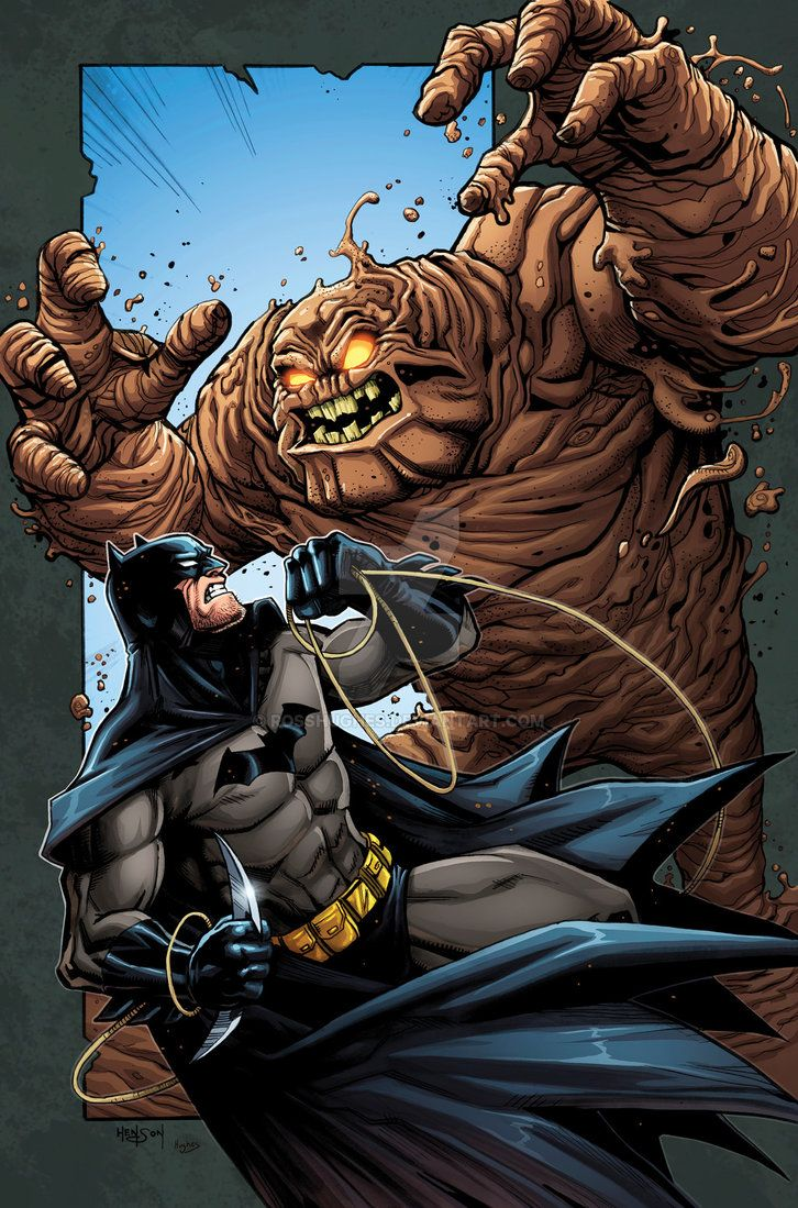 Clayface Dc Comics Yahoo Image Search Results: Batman VS Clayface RH By RossHughes