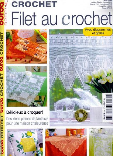 ... livres de crochet on Pinterest Picasa, Crochet magazine and Album