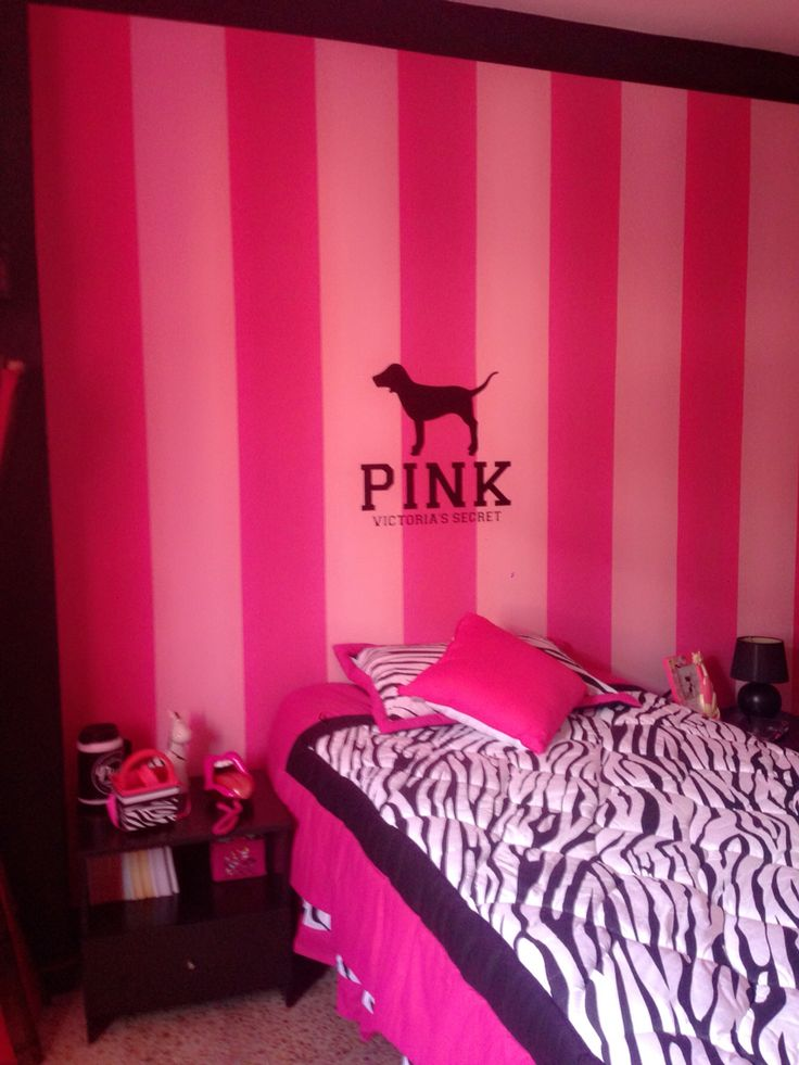 Hot Pink And Black Room Decor