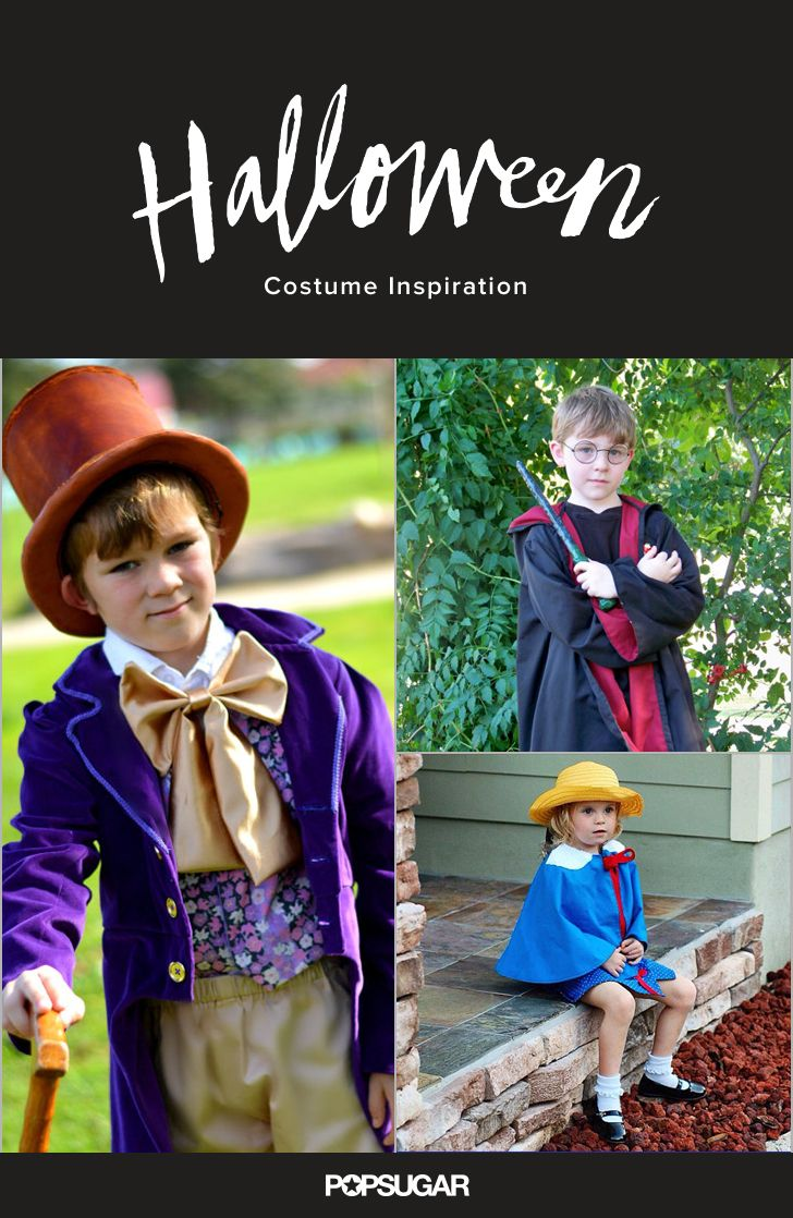 Take a page out of your child'd favorite book for Halloween this year and make the characters come to life!
