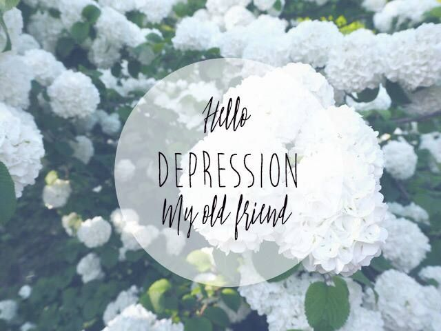 Hello Depression, My Old Friend.  A truthful blog about depression and what it truly looks like. www.teatimewithnaomi.com