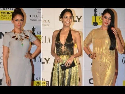 Hot stars & styles at Grazia Young Fashion Awards 2014