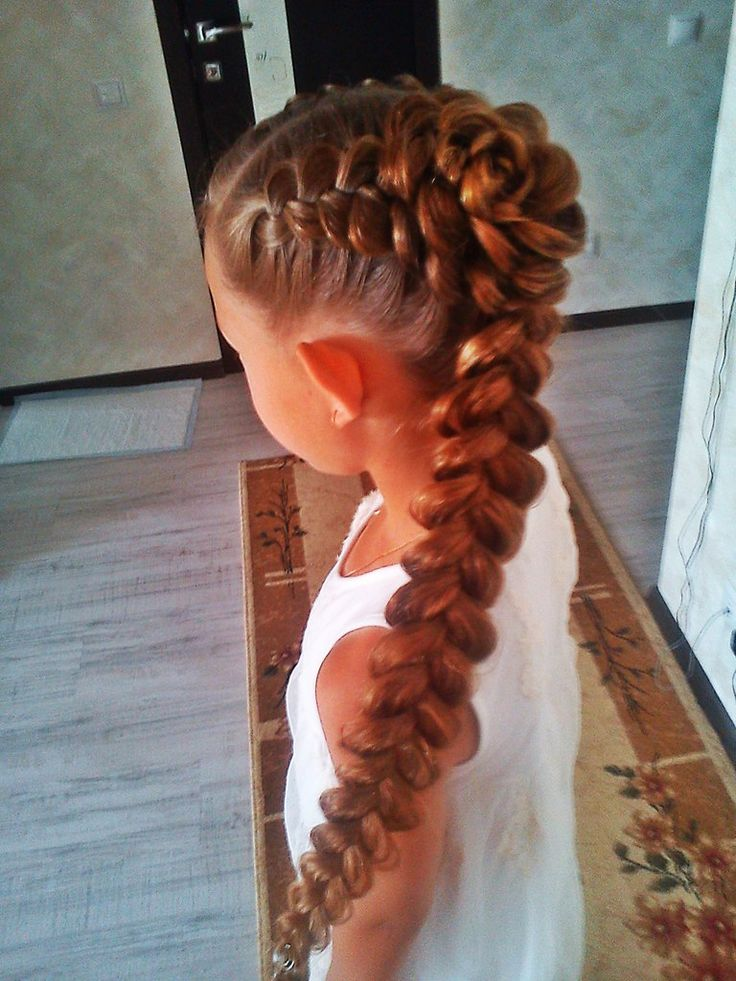 Pretty braid for girls