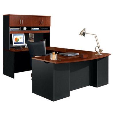 Sauder Office Furniture VIA U-Shaped Desk w/ Hutch | NBF.com