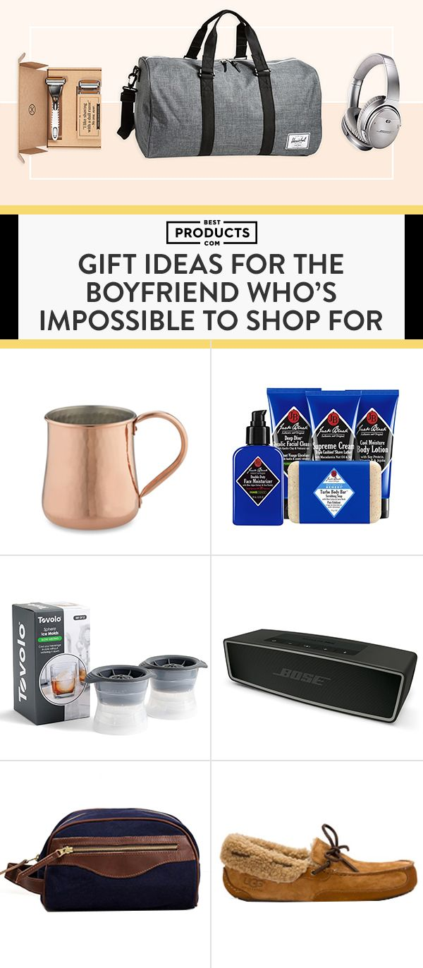 Fact: Men are impossible to shop for. Fret not! We're here to help. Here's a gift guide for every occasion with plenty of ideas that are guaranteed to win your guy over.