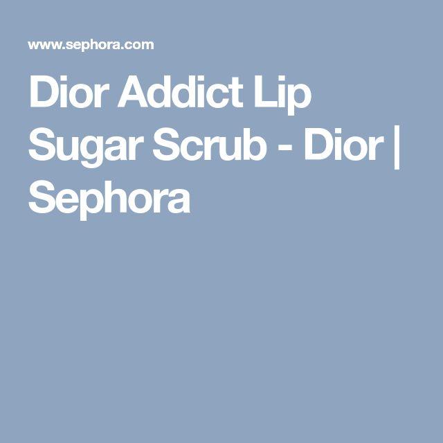 Dior Addict Lip Sugar Scrub - Dior | Sephora