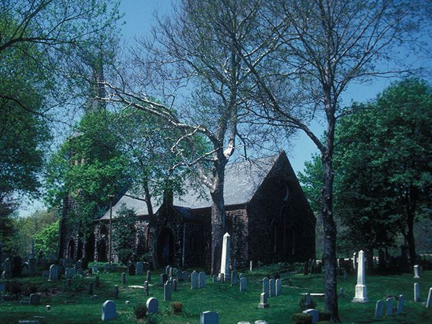 HAUNTED CHURCHES: Church of Saint Andrew – Staten Island, NY #haunted #ghosts #travel