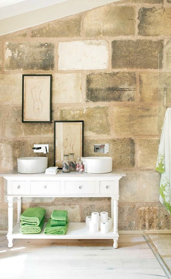 Block Wall Design Ideas : Best ideas about block wall on decorating