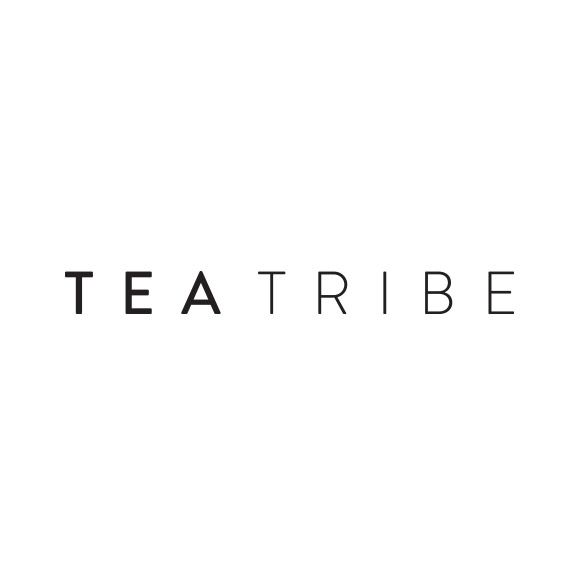 clean and simple for tea tribe  logo  madebysmackbang  smackbangdesigns