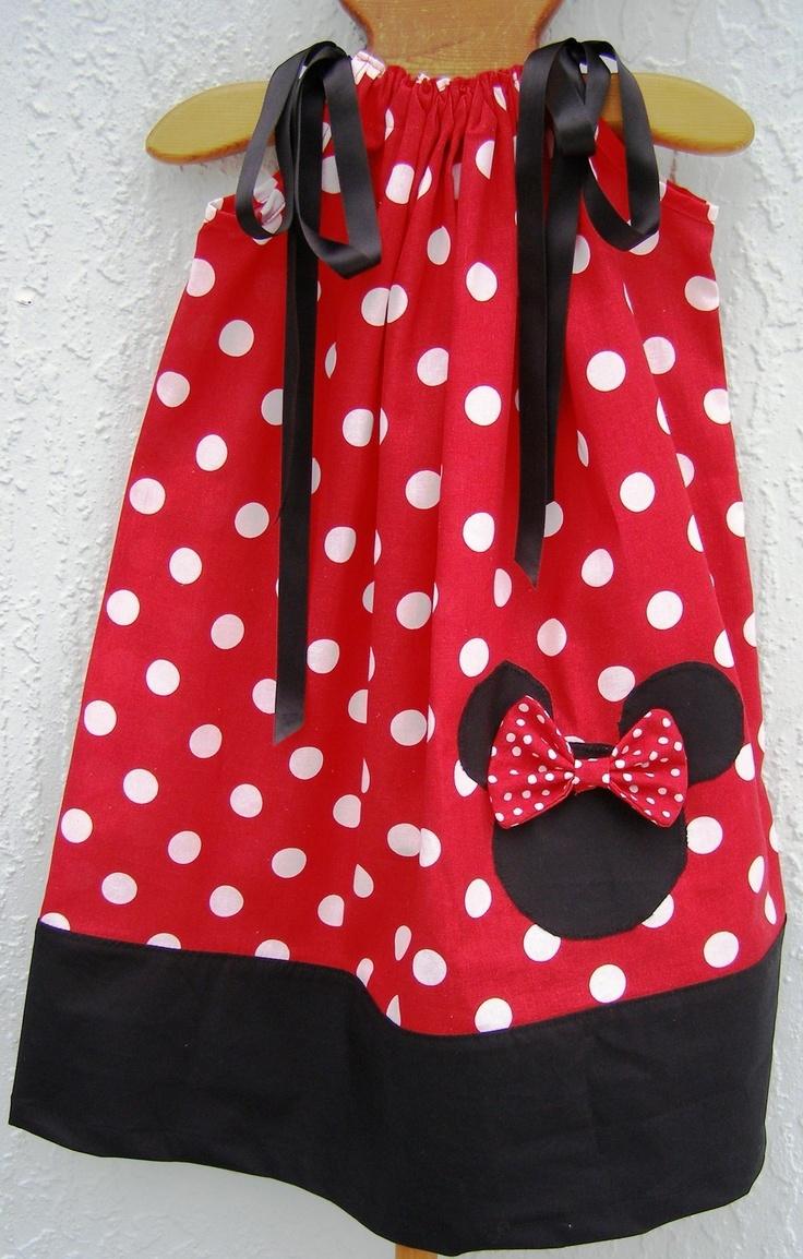 SHIP FAST MINNIE MOUSE DISNEY Pillowcase Dress Girl Size 4681012 NEW & 99 best Crochet minnie mouse images on Pinterest   Sewing ideas ... pillowsntoast.com