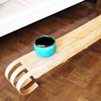 Toboggan Coffee table perfect for a cabin