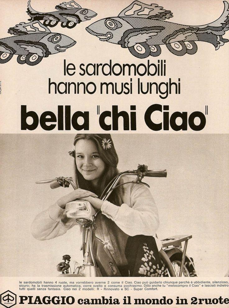 Vespa Ciao, Italien 1972