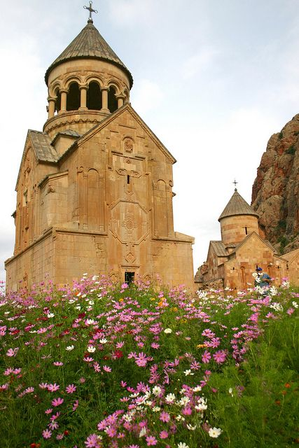 Noravanq, Armenia    One of my most favourite monasteries in Armenia-Noravanq. The church is very beautiful and the view of red hills from there is gorgeous!