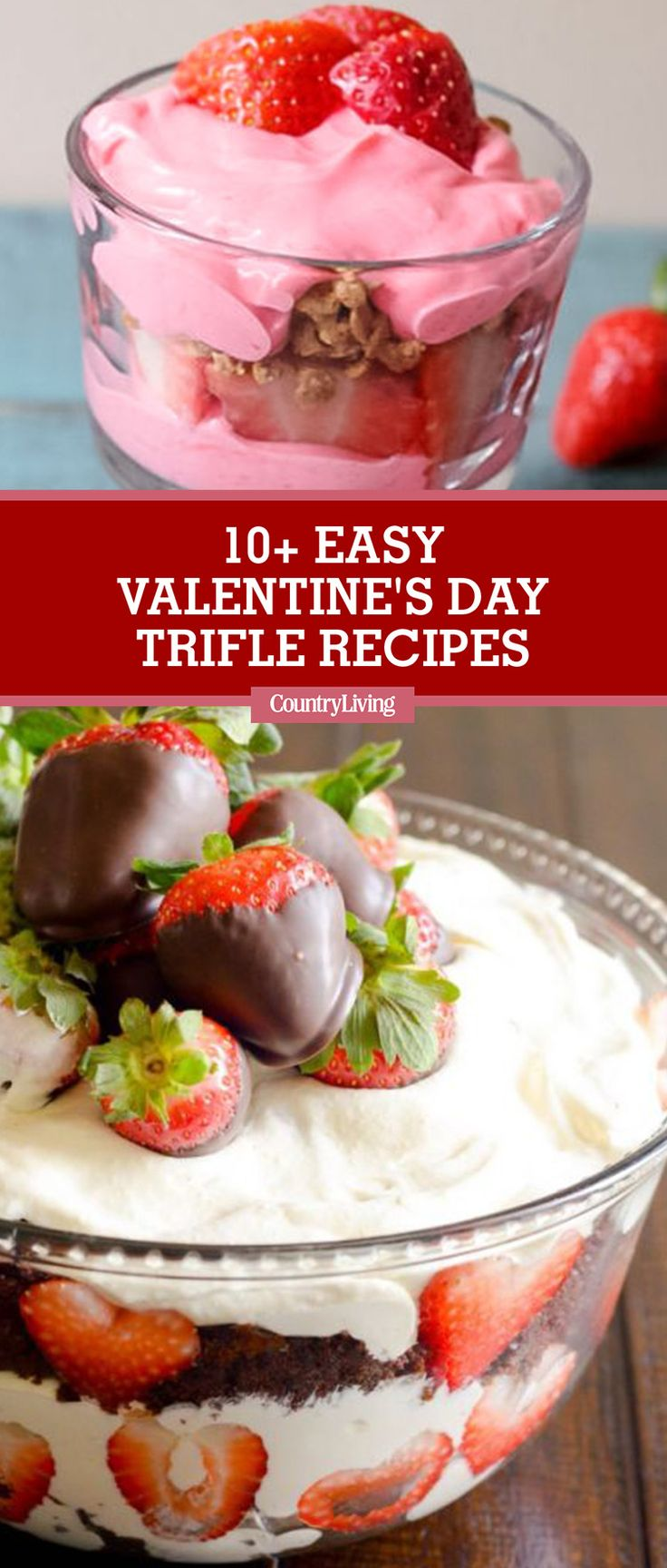 These delicious treats are a gift in themselves! Quick and easy, they combine chocolate, fruit, brownies, and even cookie dough. #valentinesday #valentinesdaydesserts #nobakedesserts #valentinesdaysweets
