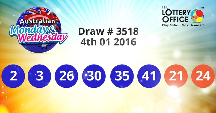 $1 million Australian Monday & Wednesday Lotto winning numbers results are here: #lotto #lottery #loteria #LotteryResults #LotteryOffice