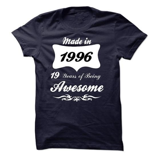 Made in 1996 T Shirts, Hoodie Sweatshirts