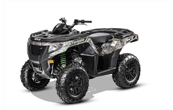 New 2016 Arctic Cat Alterra 550 XT Camo ATVs For Sale in Alabama. 550 H1 4-Stroke Engine With EFI: 545cc propel this liquid-cooled single cylinder down the trail nicely. Electronic fuel injection keeps this machine running at peak performance in the coldest of cold or during the dog days of summer.