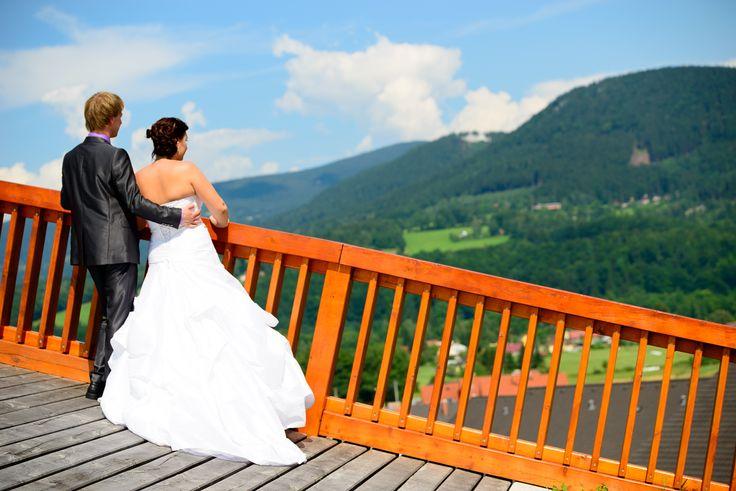 svatba na golfovém hřišti