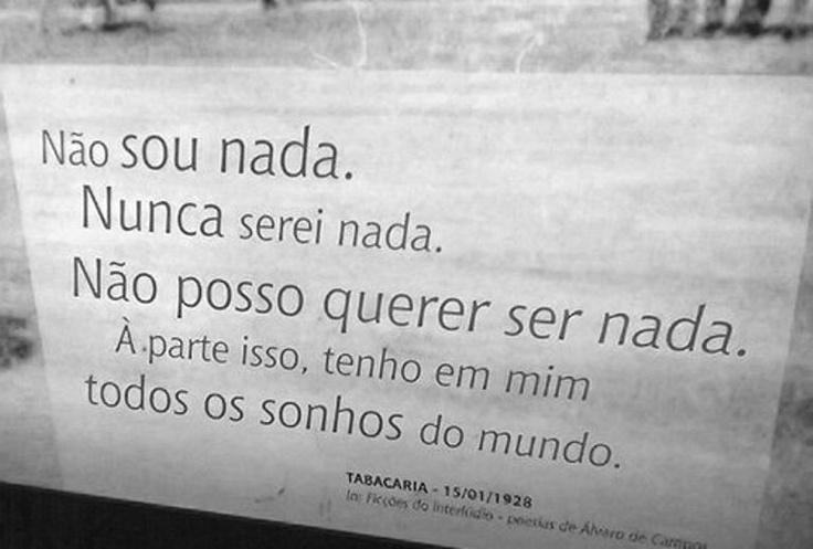Tabacaria, Fernando Pessoa