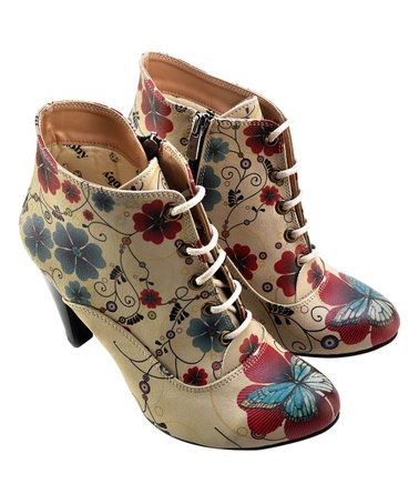 66d490083 Blue & Red Butterfly Bootie Teen Girl Outfits, Red Butterfly, Shoe  Closet,