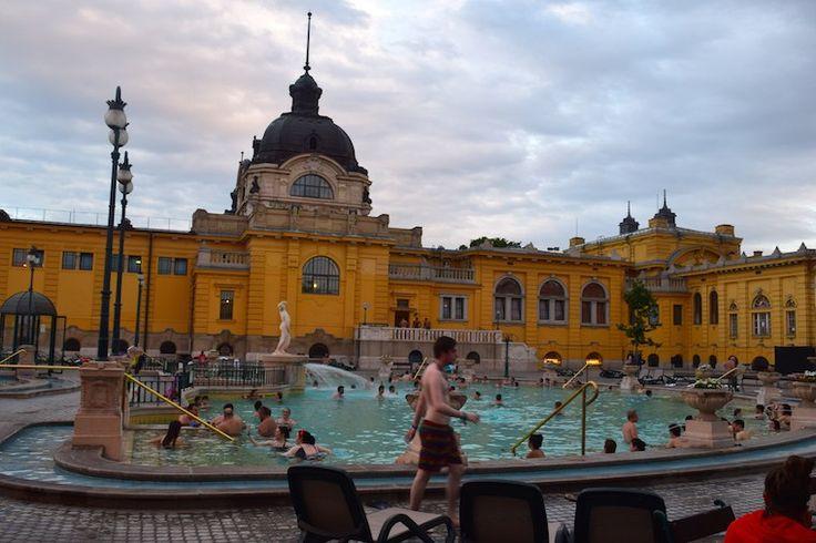 Széchenyi banhos publicos termais budapeste