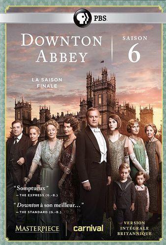 Masterpiece: Downton Abbey - Season 6 [3 Discs] [DVD]