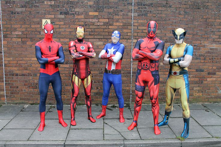 Marvel costumes incorporate wearable technology and augmented reality