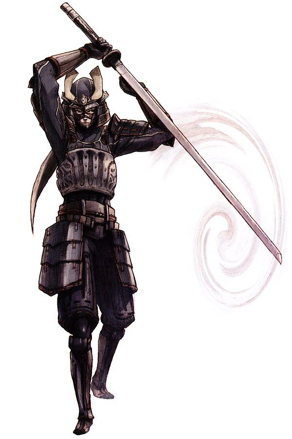 Elvaan Samurai from Final Fantasy XI