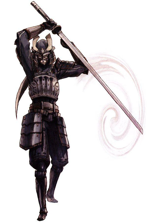 Elvaan Samurai from Final Fantasy XI