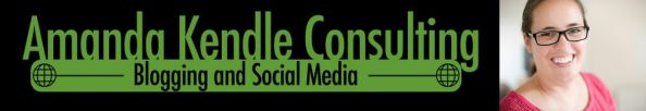 Amanda Kendle Consulting newsletter - sign up here!