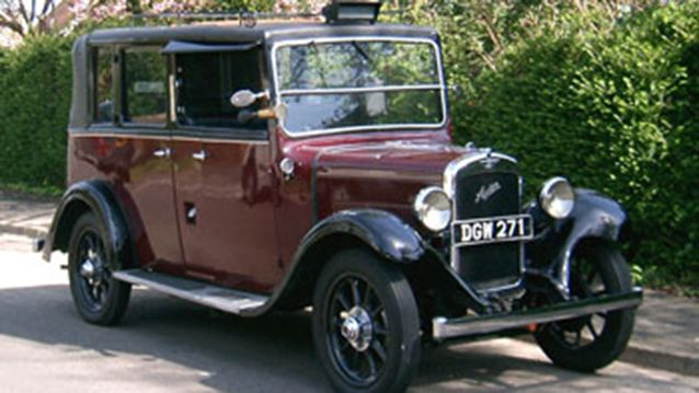 DGW 271 Ricketts 1936 Austin 12/4 LL. The Ricketts coach builder version of the Austin Taxi cab is now one of the rarer survivors with only a handful around today (less than half a dozen).