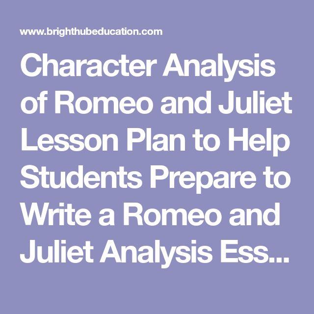 Romeo & Juliet Moving Image Analysis
