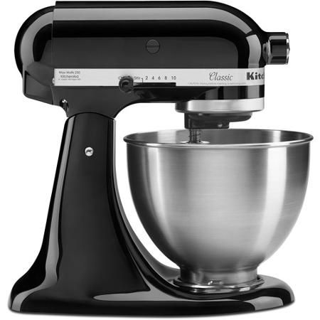 KitchenAid Classic 4.5-Qt Stand Mixer, K45SS - Walmart.com