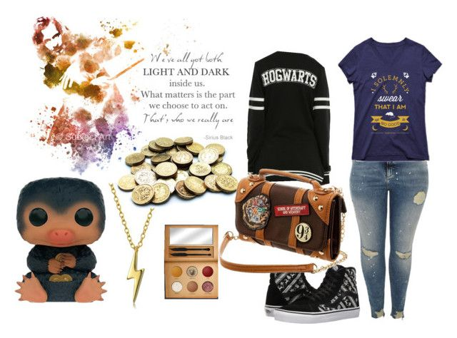 """""""Very Potter"""" by amelie-frojd on Polyvore featuring Sirius, Funko, River Island, Bling Jewelry, Warner Bros. and Vans"""
