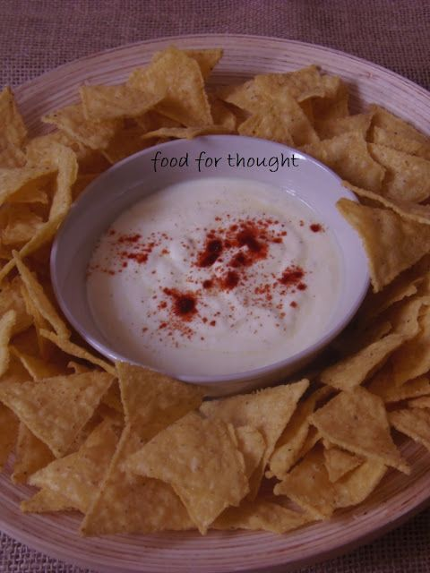 Food for thought: Ντιπ Γιαουρτιού για Nachos