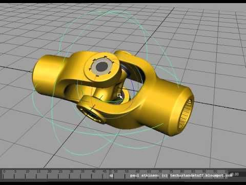 Tech Art and Stuff: How To : Rig a Universal Joint in Maya