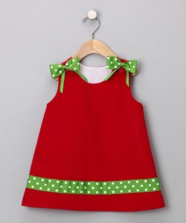 Christmas Dress... make this in corduroy?