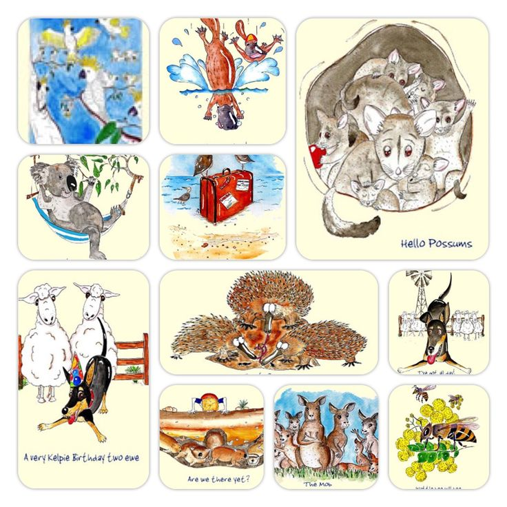 #Australian #Greeting #Cards ~ by #Jo & #Bryce #Rothwell