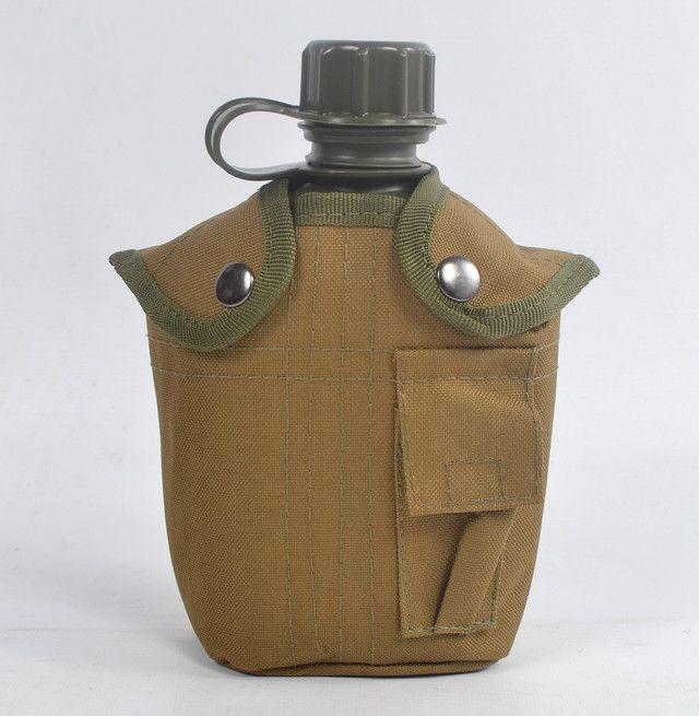 Фляга в чехле хаки на 1 литр  | купить в Украине | опт и розница