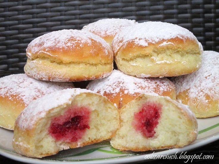 Obżarciuch: Pączki pieczone w piekarniku
